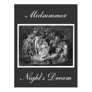 Midsummer Night's Dream Postcard