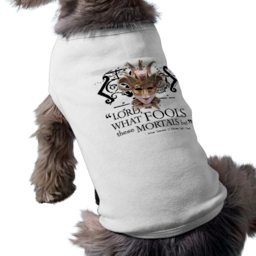 Midsummer Night's Dream Quote Dog Tee