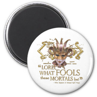 Midsummer Night's Dream Quote (Gold Version) Magnet