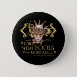 Midsummer Night's Dream Quote (Gold Version) Pinback Button