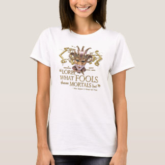Midsummer Night's Dream Quote (Gold Version) T-Shirt
