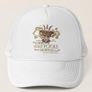 Midsummer Night's Dream Quote (Gold Version) Trucker Hat