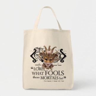 Midsummer Night's Dream Quote Tote Bag