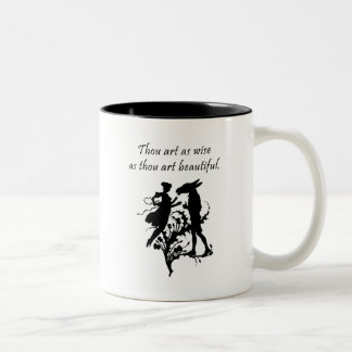 Midsummer Night's Dream Two-Tone Coffee Mug