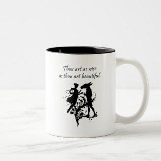 Midsummer Night's Dream Two-Tone Coffee Mug