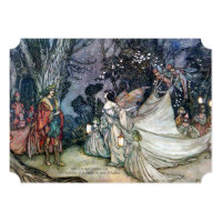 Midsummer Night's Dream Vintage Wedding Invitation