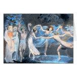 Midsummer Night's Dream, William Blake Greeting Card