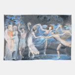 Midsummer Night's Dream, William Blake Kitchen Towels