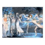 Midsummer Night's Dream, William Blake Postcard