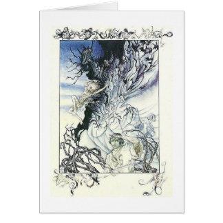 Midsummer Night's Fantasy Greeting Card