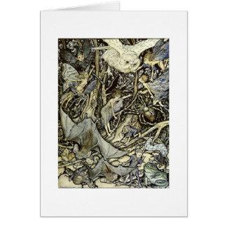 Midsummer Night's Fantasy Card