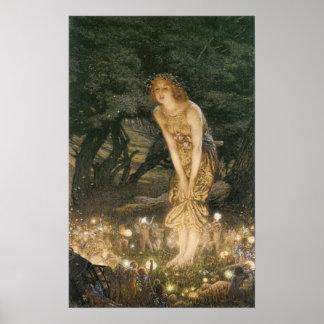Midsummer s Eve Fairy Poster