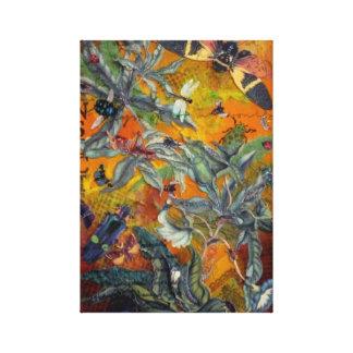 Midsummer Swarm Canvas Print