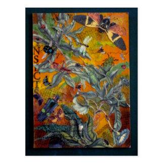 Midsummer Swarm Post Card