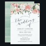 "Midsummer   Watercolor Floral Wedding Invitation<br><div class=""desc"">custom</div>"