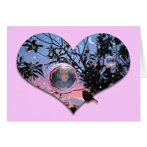 Midsummer's Eve Fairy Bubbles! Greeting Card
