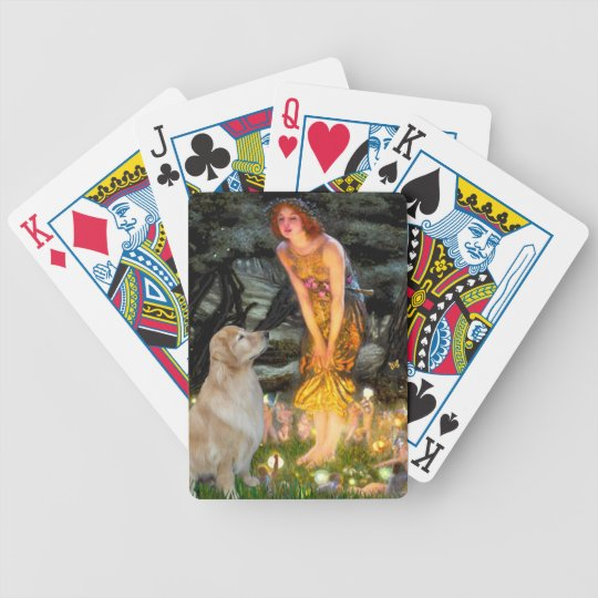 Midsummer's Eve - Golden Retriever (#11) Bicycle Playing Cards
