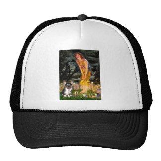 Midsummers Eve - Welsh Corgi (tri Pembroke pup) Trucker Hat
