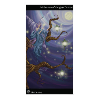 Midsummer's Nights Dream Poster