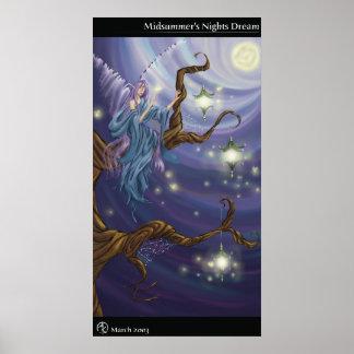 Midsummer's Nights Dream Poster