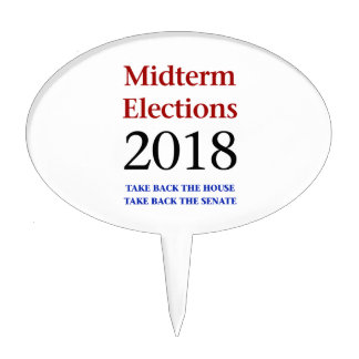 Midterm Elections 2018-Take Back Congress Cake Topper