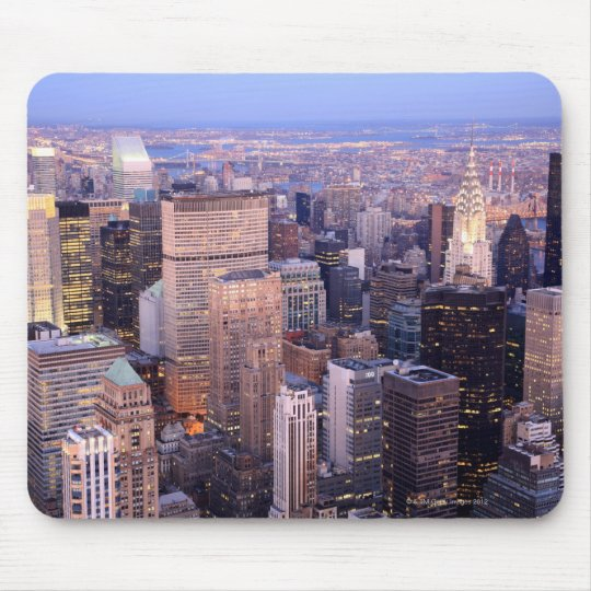 Midtown and Upper East Side Mouse Pad