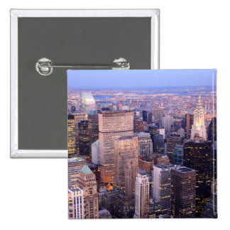 Midtown and Upper East Side Pinback Button