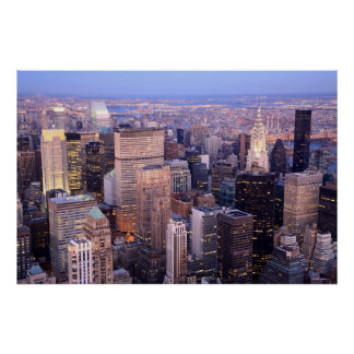 Midtown and Upper East Side Poster