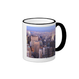 Midtown and Upper East Side Ringer Mug
