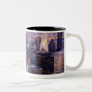 Midtown and Upper East Side Two-Tone Coffee Mug