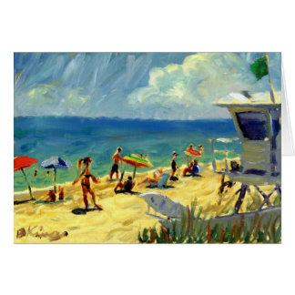 Midtown Beach note card