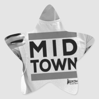 Midtown City Collection by Midtown Clothing Star Sticker