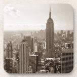 Midtown de New York City Posavasos De Bebida