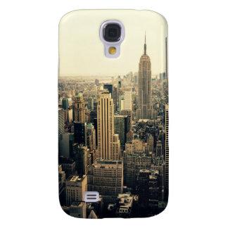 Midtown del horizonte de New York City Funda Para Galaxy S4