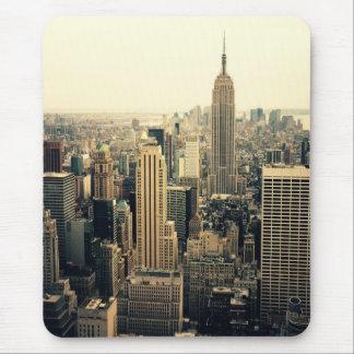 Midtown del horizonte de New York City Mouse Pad