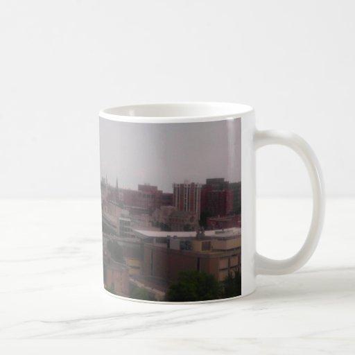 midtown detroit classic white coffee mug