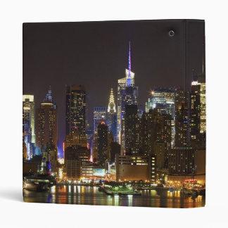 Midtown Manhattan as seen from Weehawken NJ Binder