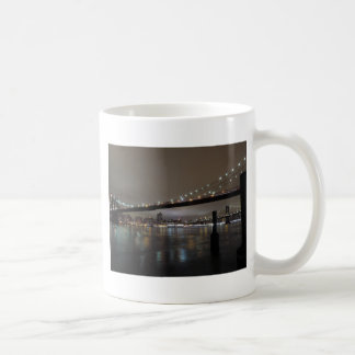 Midtown Manhattan at Night Coffee Mug