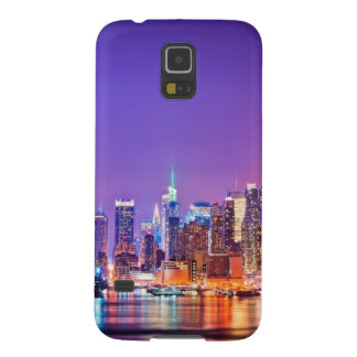 Midtown Manhattan at night with Empire Stae Case For Galaxy S5