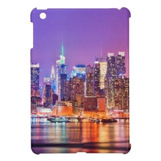 Midtown Manhattan at night with Empire Stae iPad Mini Case