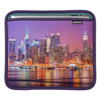 Midtown Manhattan at night with Empire Stae Sleeves For iPads