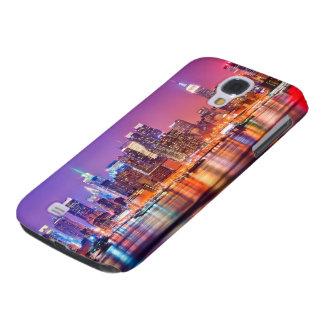 Midtown Manhattan en la noche con el imperio Stae Funda Para Galaxy S4