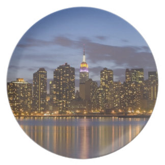 Midtown Manhattan Melamine Plate