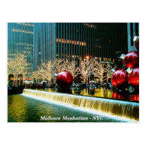 Midtown Manhattan - New York City Postcard