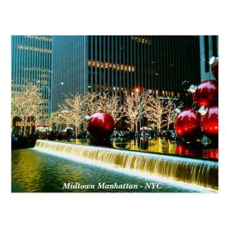 Midtown Manhattan - New York City Postcard