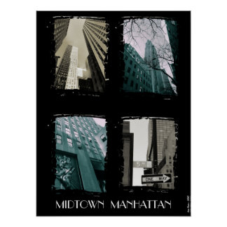 Midtown Manhattan Print