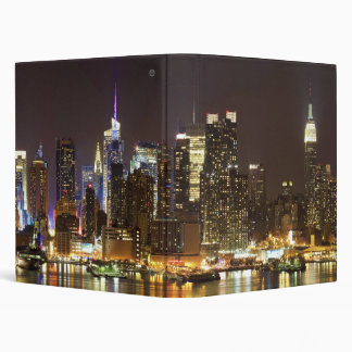 Midtown Manhattan seen from Weehawken New Jersey Binder