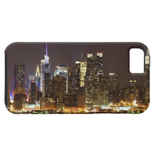 Midtown Manhattan seen from Weehawken New Jersey iPhone 5 Cover