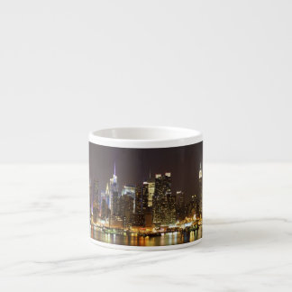 Midtown Manhattan seen from Weehawken New Jersey Espresso Cup