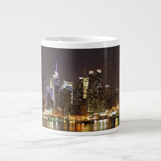 Midtown Manhattan seen from Weehawken New Jersey Large Coffee Mug